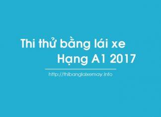thi thu bang lai xe may hang a1 2017